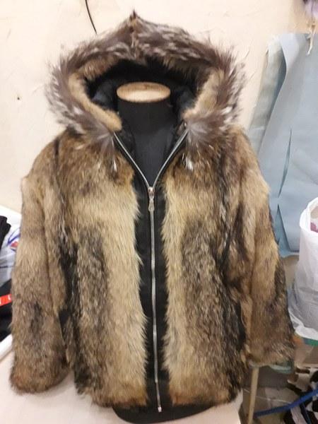 Куртка из волка