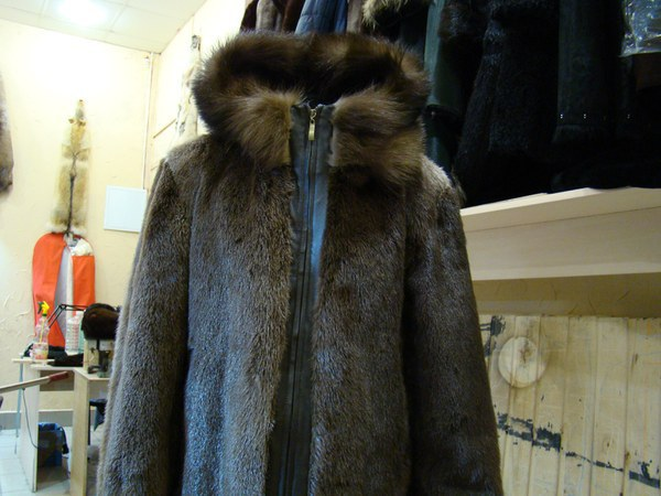 Куртка из выдры