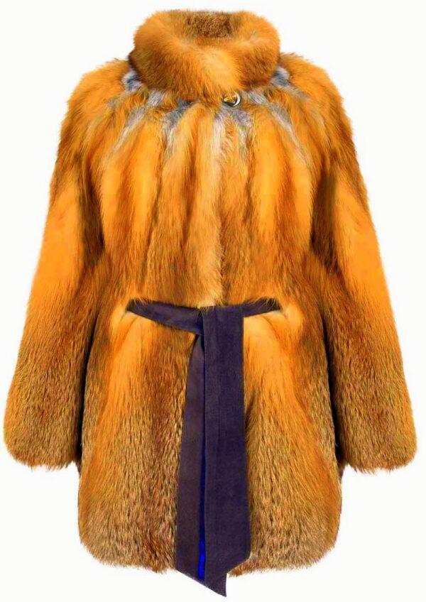 Шубы из редкой красной лисицы